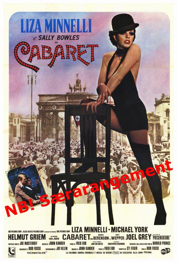 Gense Cabaret med Liza Minelli